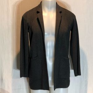 J. Crew Open front Cardigan Small Gray NWT